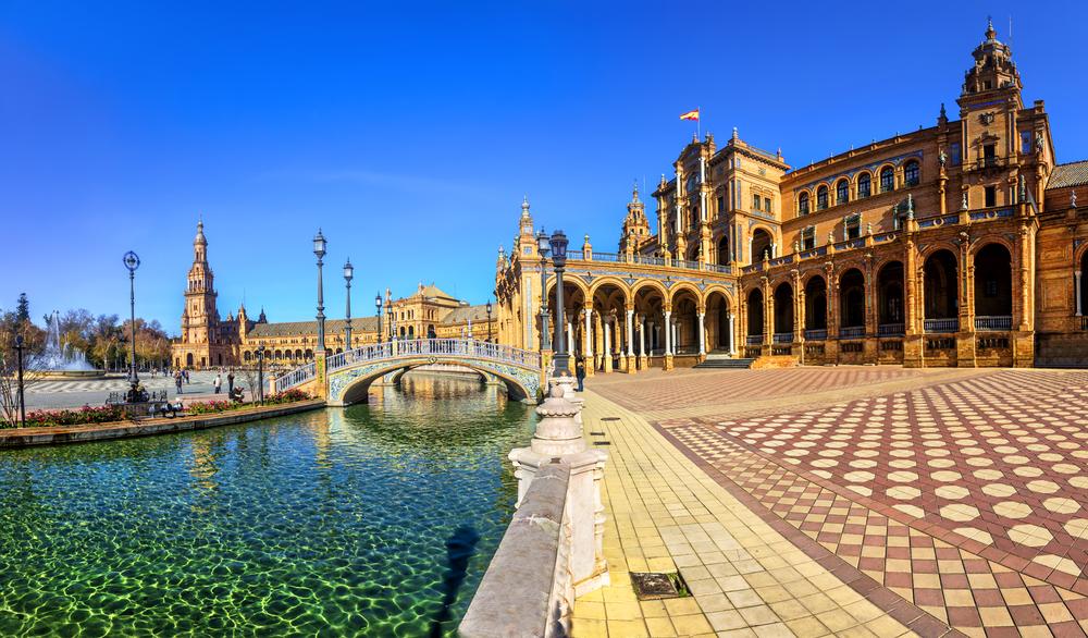 Plaza de España declarada el monumento más romántico de Europa
