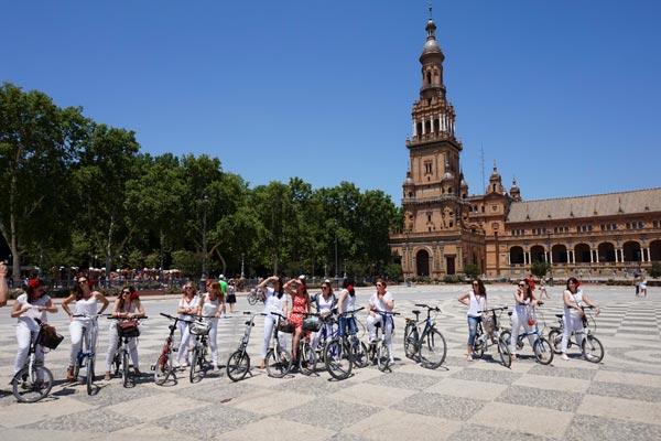 Bike Tour en Sevilla con guias locales