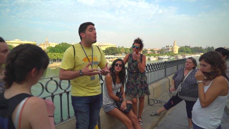free tours con las mejores valoraciones en Sevilla